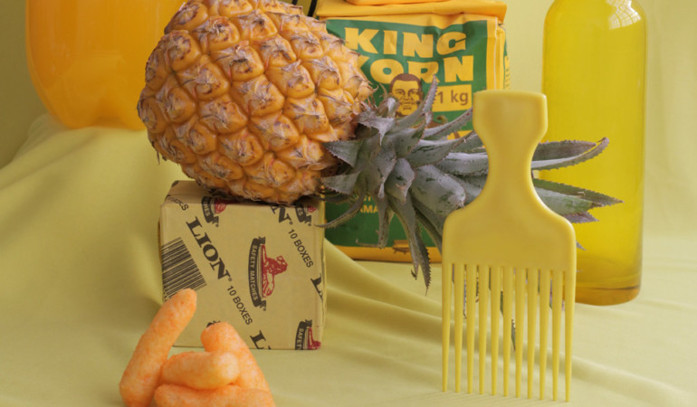 What's yellow? A brand new moodboard contemplating the colour 🍍